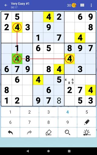 Sudoku Free - Classic Brain Puzzle Game  screenshots 19