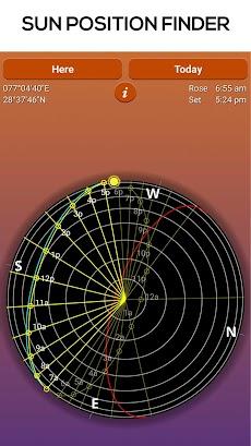 Sun Seeker - Sunrise Sunset Times Tracker, Compassのおすすめ画像2