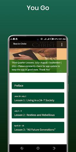 SDA Sabbath School Quarterly  screenshots 3