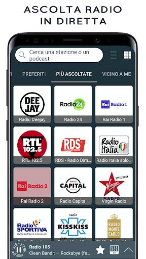 Radio Italia: Online Radio Streaming  screenshots 1
