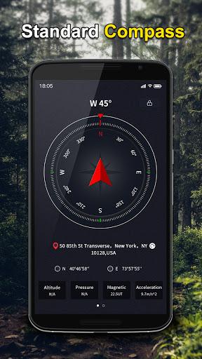 Portable GPS Compass & Bubble Level 1.0.7 screenshots 1