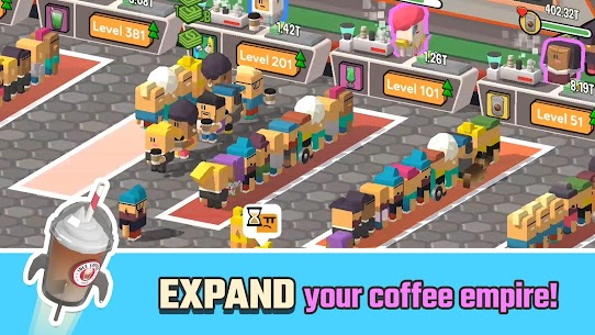 Idle Coffee Corp (MOD, Unlimited Money) 5