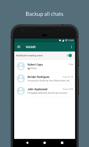 Download WAMR - Recover deleted messages & status download 0.10.8 1