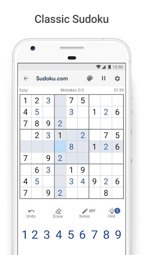 Sudoku.com - Free Sudoku 3.3.0 screenshots 1
