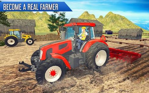 Tractor Thresher Games 3D  Farming Games Apk Download 3