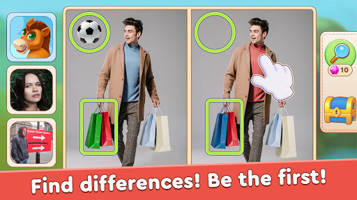 Find it First - Spot the differences in picture  screenshots 1