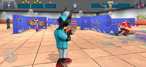 Paintball Shooting Games 3D apkpoly screenshots 13