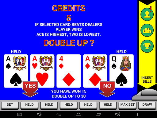 Video Poker Classic Double Up 6.20 screenshots 6