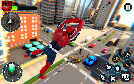 Flying Robot Hero - Crime City Rescue Robot Games 1.7.7 screenshots 9
