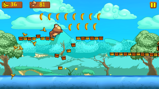 Banana King Kong - Super Jungle Adventure Run 3.1 screenshots 3