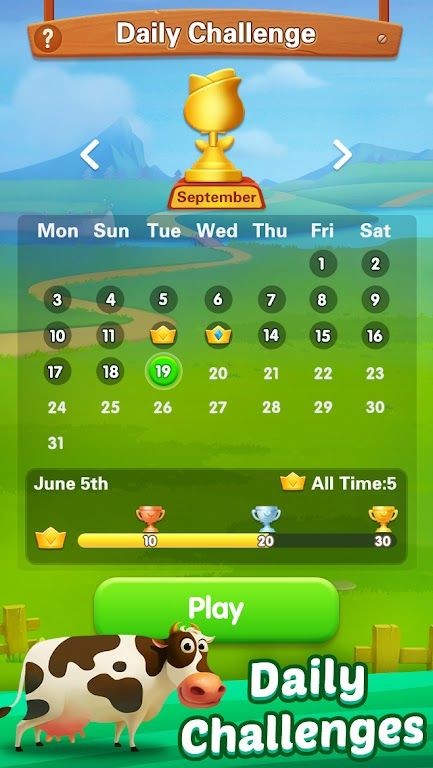 Solitaire - My Farm Friends poster 15
