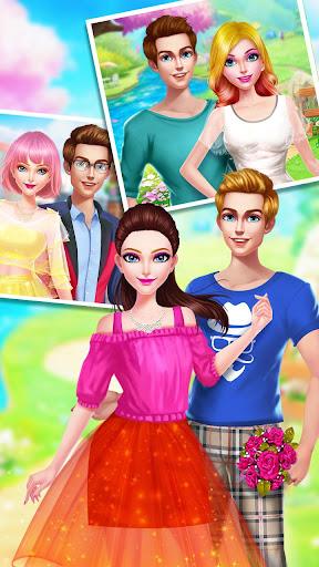 ud83cudfebud83dudc84School Date Makeup - Girl Dress Up  screenshots 5
