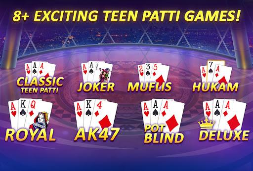 Teen Patti Gold - 3 Patti, Rummy, Poker & Cricket 5.61 screenshots 4