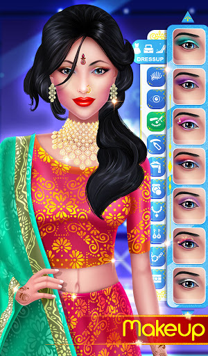 Wedding Fashion Stylist: Indian Dress up & Makeup 1.0 screenshots 9