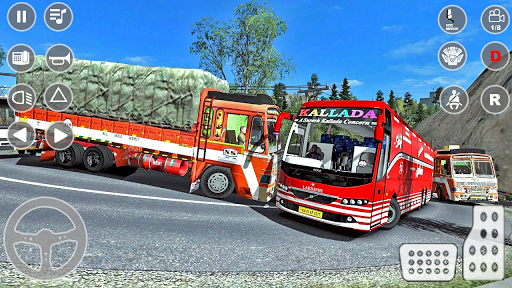 Indian Truck Cargo Simulator 2020: New Truck Games android2mod screenshots 15