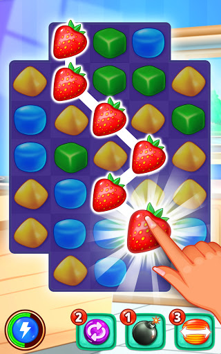 Gummy Paradise - Free Match 3 Puzzle Game 1.5.4 screenshots 1