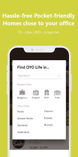 OYO LIFE: Rent Flats/PG, Furnished, Zero Brokerage apktram screenshots 3