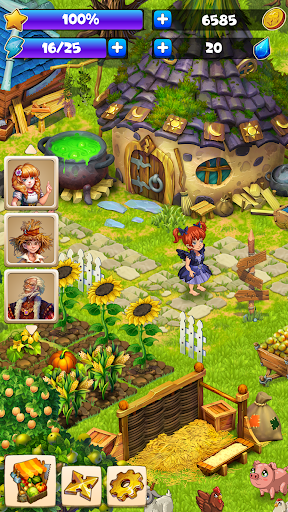 Farmdale: farming games & township with villagers 6.0.1 Screenshots 6