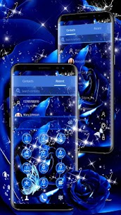 Blue Rose Raindrops Theme For Pc – (Free Download On Windows 7/8/10/mac) 2