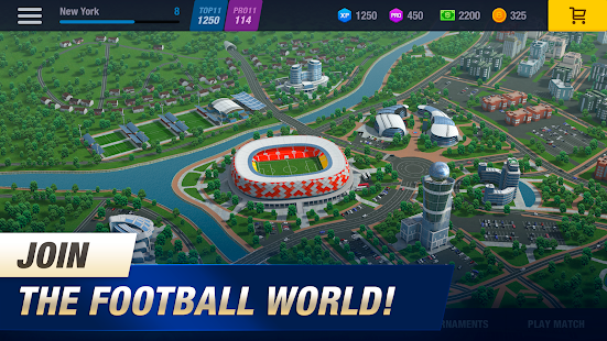 11x11: Soccer Club Manager Screenshot