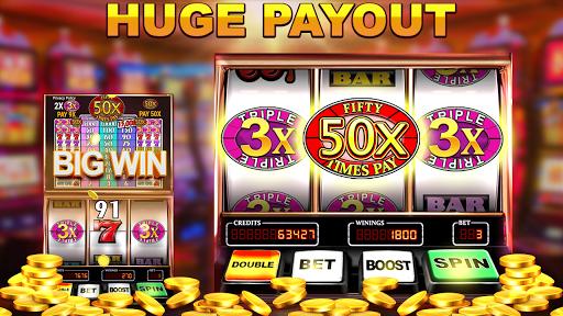 Slot Machine: Free Triple Fifty Times Pay  screenshots 14