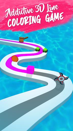 Line Color Game: 3D Adventure  screenshots 3