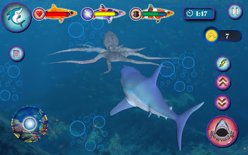 Ocean Shark Simulator u2013 Animal Attack Simulator 0.1 screenshots 4