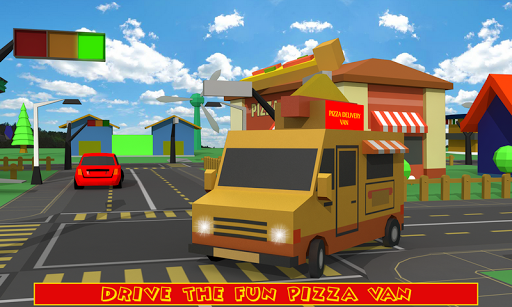 Blocky Pizza Delivery screenshots 1