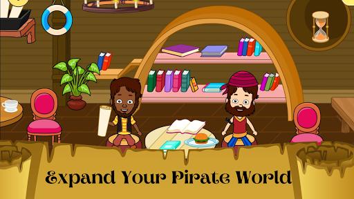 My Pirate Town - Sea Treasure Island Quest Games 1.4 Screenshots 2