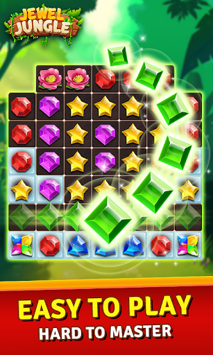 Jewels Jungle Treasure: Match 3  Puzzle 1.7.7 screenshots 2
