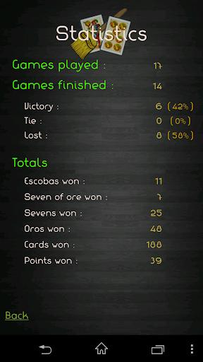 Escoba / Broom cards game 1.3.4 Screenshots 6