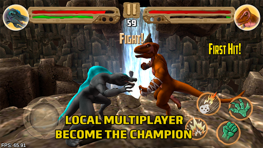 Dinosaurs fighters 2021 - Free fighting games  screenshots 3