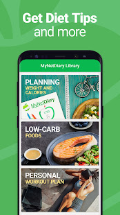 Calorie Counter - MyNetDiary, Food Diary Tracker 7.7.5 Screenshots 8