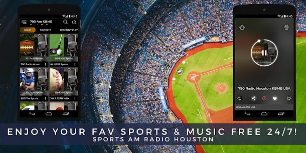 Radio 790 Am Houston Sports Talk Station Online HD 4.0 Mod APK with Data 1
