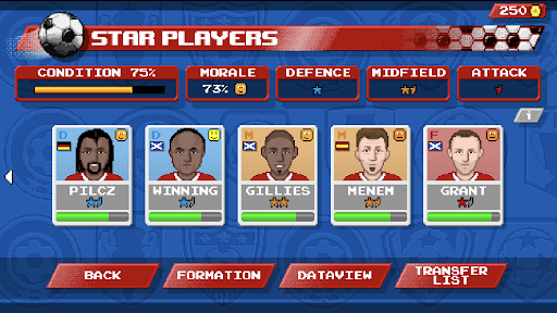 Retro Goal Apkfinish screenshots 3