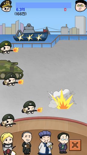 Tap Tap Soldier - Space War  screenshots 7