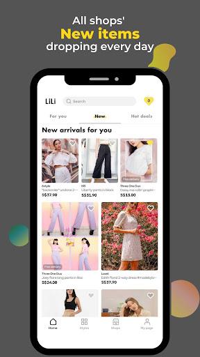 LiLi Style - All Fashion Shops Apkfinish screenshots 3