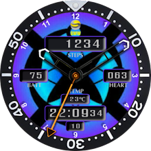 Android Watch Faces 62 Download on Windows