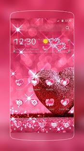 Pink Love Diamond Heart