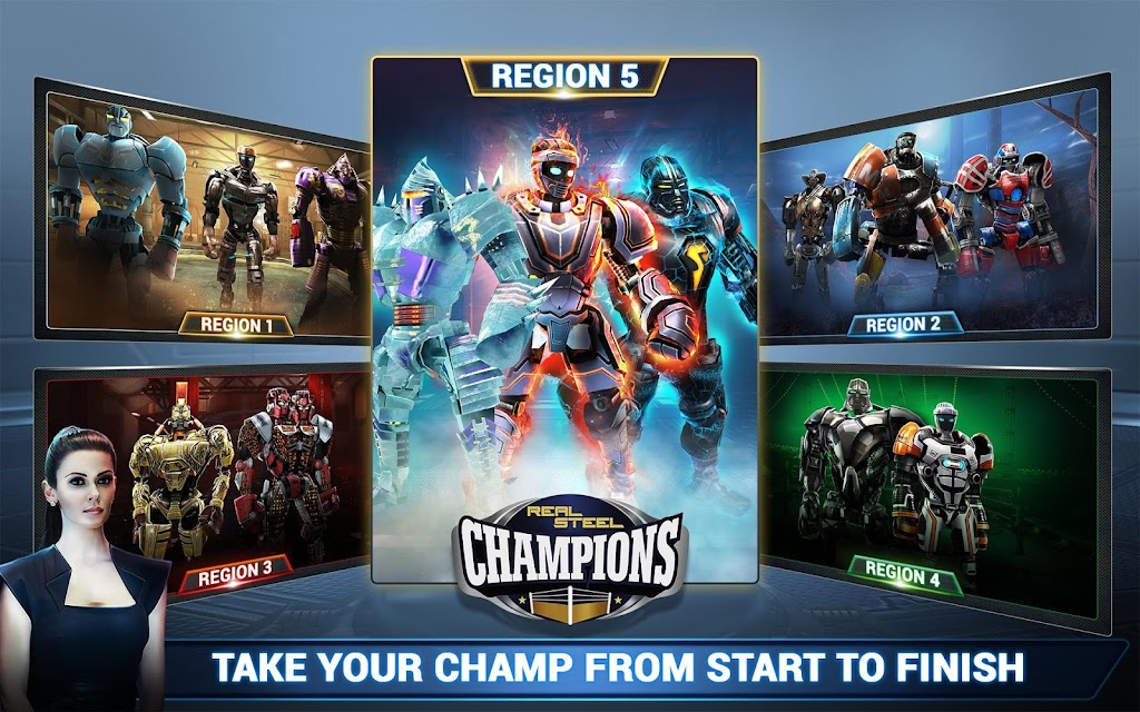 Real Steel Boxing Champions MOD poster 14