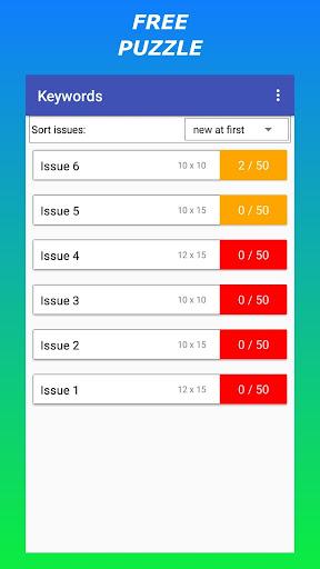 Keywords u2014 Free Codeword Puzzle 1.4.19.69-EN screenshots 11
