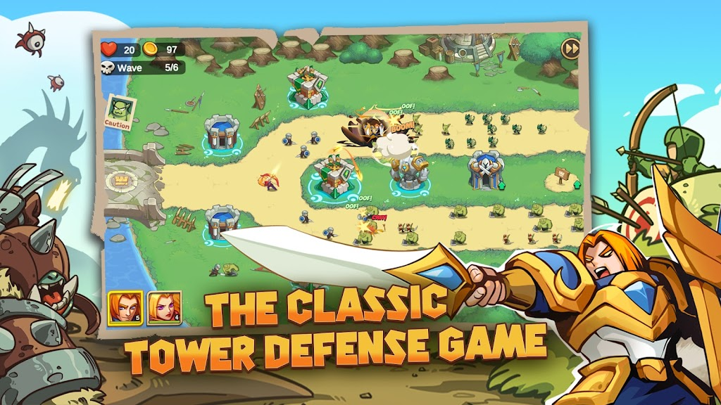 Empire Defender TD: Tower Defense Strategy Game TD poster 7