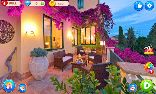 Garden Makeover : Home Design and Decor apkpoly screenshots 6