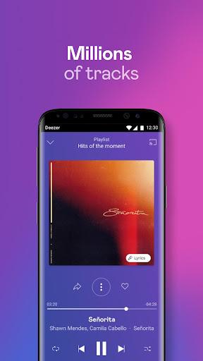 Deezer Music Player: Songs, Radio & Podcasts 6.1.14.99 Screenshots 1