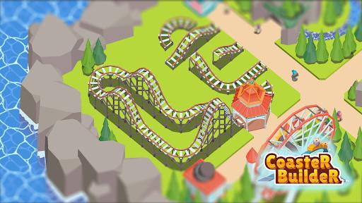 Coaster Builder: Roller Coaster 3D Puzzle Game  screenshots 7