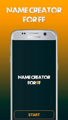 Name Creator For Free Fire u2013 Nickname Stylish 1.0 Screenshots 5