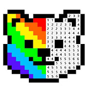 Pixelz - Color by Number Pixel Art Coloring Book