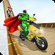 スーパーヒーロースクーターgTスタントゲーム - Androidアプリ