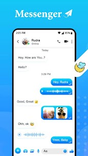 New Messenger – Text & Video Chat For Free 3