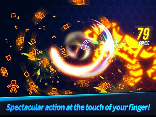 Ninja Slice Master : Stickman Neon Action  screenshots 7